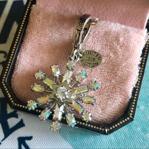 Juicy Couture Limited Edition 2010 Snowflake Charm
